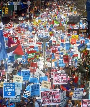 Proteste gegen Irak-Krieg in den USA