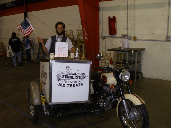 If Philadelphia has another water ice selling biker, let me know.