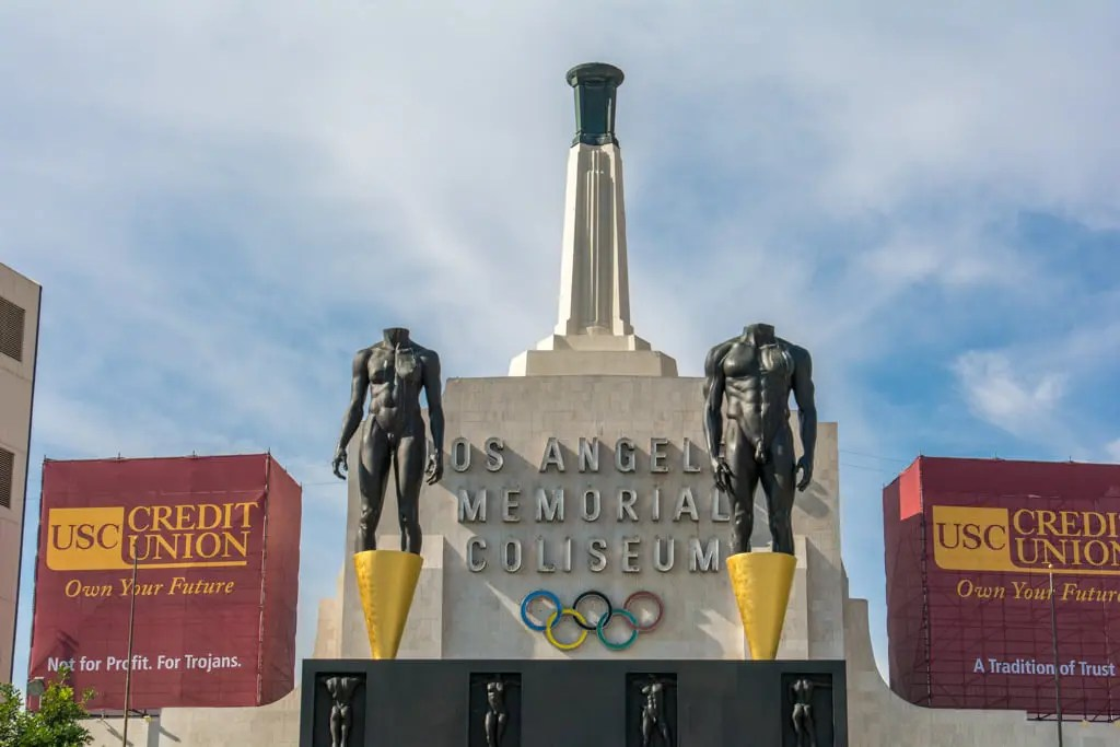 Los Angeles Memorial Coliseum  919Raleigh-9072