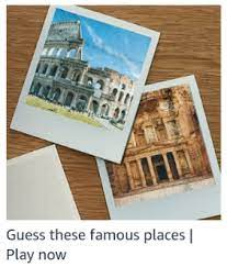 guess the famous places