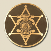 SHERIFF CASS COUNTY BADGE