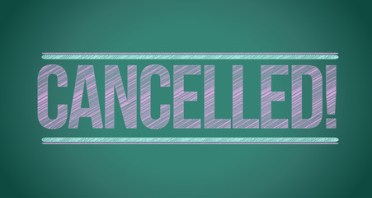 cancelled sign chalk