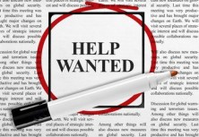 help wanted paper