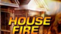 house fire sign
