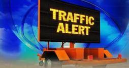 traffic alert electronic sign