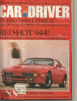 car and driver 944