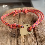 RockHard Bracelet Bronze Pink Ropestring
