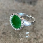 Native Signet Ring Grass Green