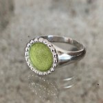 Native Signet Ring Prosperous Olive