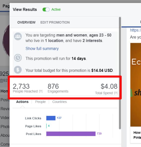 facebook ads promotion for affiliate marketing