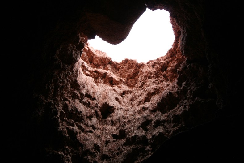 looking-up-cave