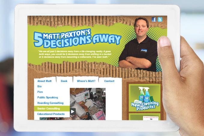 5decisionsaway.com Wordpress Web Design
