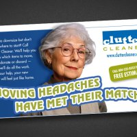 Clutter Cleaner Print Ad 680×453