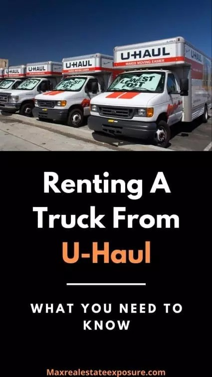 Renting a Truck From Uhaul