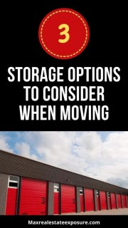 Storage Options When Moving: 3 Methods Compared