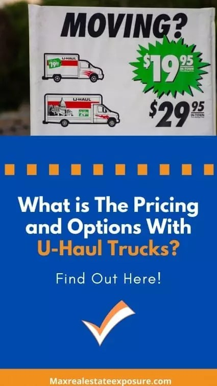 What is The Pricing and Options With Uhaul Trucks