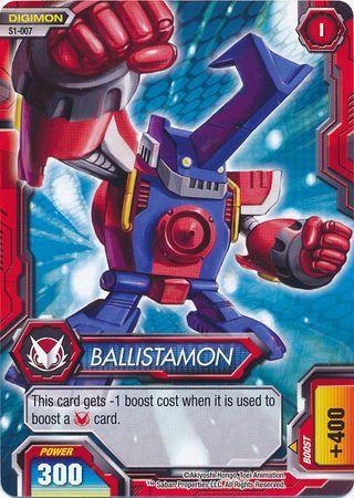 Ballistamon S1 007 Common Digimon Fusion New World Shoutmon Theme Deck