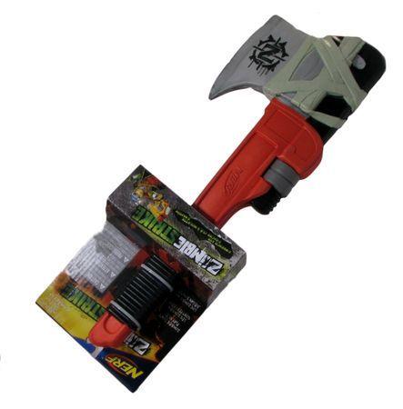 Nerf Zombie Strike Z Wrench Axe Nerf Zombie Strike