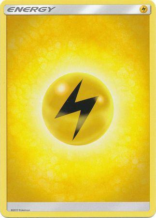 Lightning Energy 2017 Sun Amp Moon Base Set Singles
