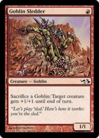 Goblin Sledder Duel Deck Elves Vs Goblins Magic The Gathering
