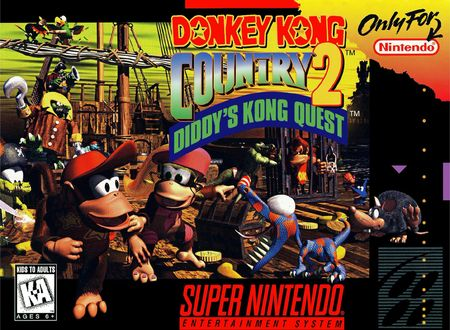 Donkey Kong Country 2 Diddys Kong Quest Super Nintendo