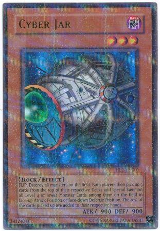 Cyber Jar HL2 EN001 Ultra Parallel Rare Yu Gi Oh Promo Cards Yugioh