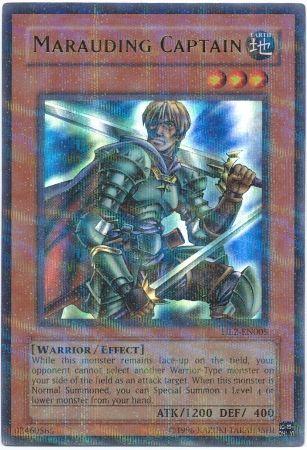 Marauding Captain HL2 EN005 Ultra Parallel Rare Yu Gi Oh Promo Cards Yugioh