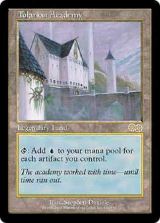 Tolarian Academy Urzas Saga Magic The Gathering