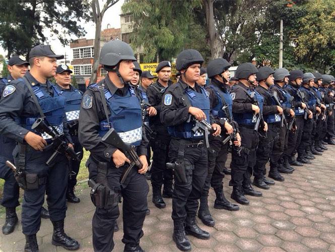 El titular de la SSPDF, Jesús Rodríguez Almeida, encabezó el Operativo Rastrillo en calles de la delegación Iztacalco. Foto