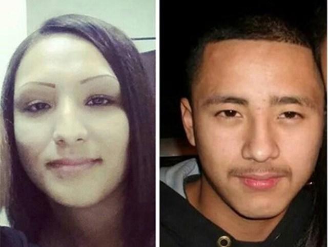 Erica Maria Alvarado Rivera, y su hermano Alex, dos de los texanos desaparecidos.