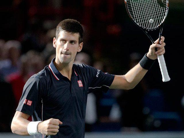Djokovic defenderá título del Masters de París ante Milos Raonic