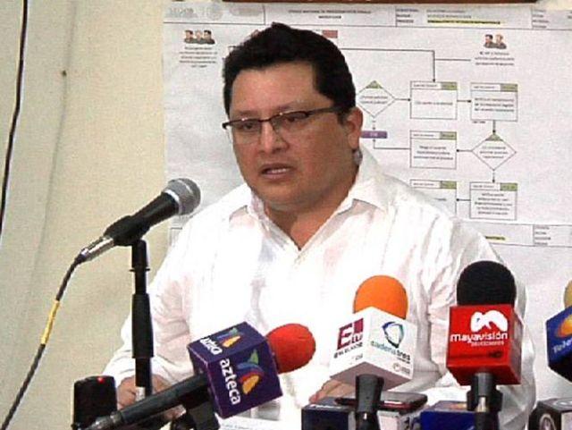El procurador de Justicia de Campeche, José Arturo Ambrosio Herrera