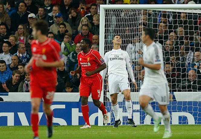 Por más que intentó anotar, el gol se le negó a Cristiano Ronaldo (AP)