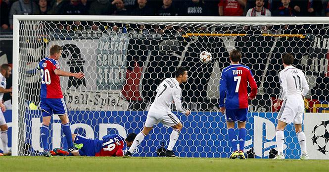 Cristiano Ronaldo empata con Raúl González como segundo máximo goleador de la Champions (Reuters)