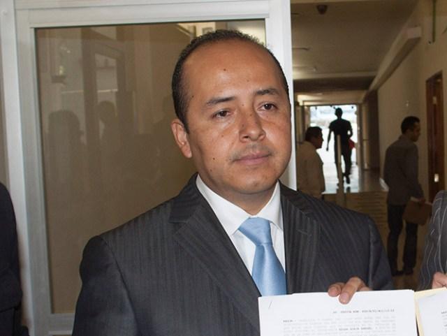 El diputado local Édgar Borja revocó su solicitud de licencia indefinida y ocupará nuevamente su lugar en la ALDF. Foto Cuartoscuro/Archivo