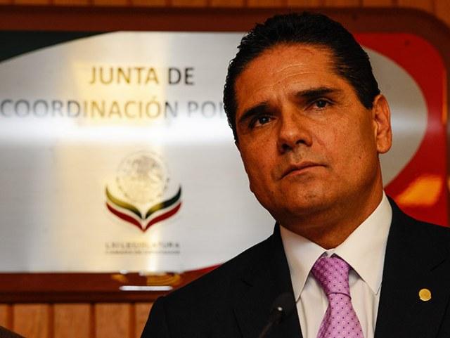 Silvano Aureoles Conejo, presidente de la Mesa Directiva de la Cámara de Diputados