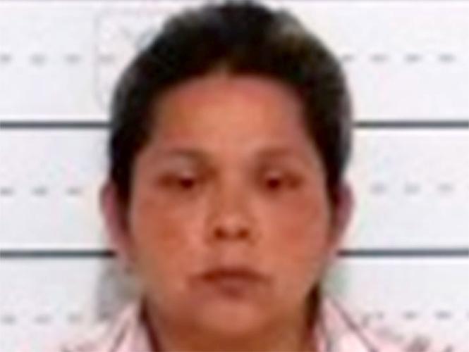 Martha Alicia Sierra fue detenida como presunta responsable del delito contra la salud, en narcomenudeo. Foto Cortesía PGJDF