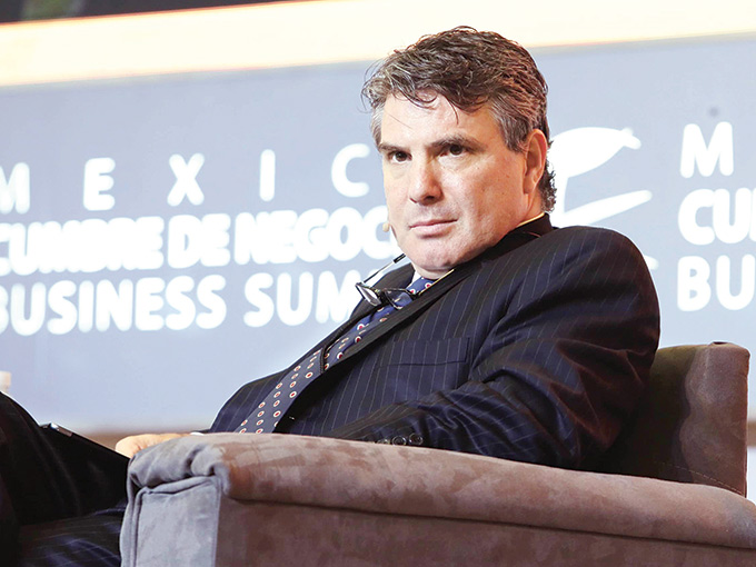 Ildefonso Aguilar, director de negocios de la firma Grupo Diavaz.
