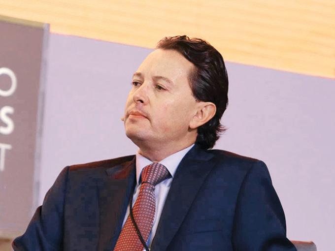 Carlos Rojo, director general de Grupo Financiero Interacciones. Fotos: Paola Hidalgo