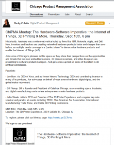 LinkedIn Announcement - ChiPMA