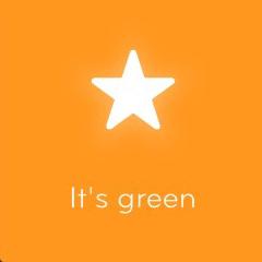 It's green 94
