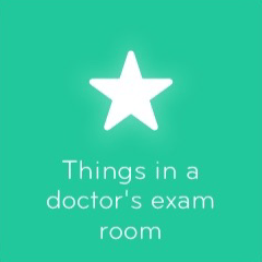 Things in a doctor's exam room 94