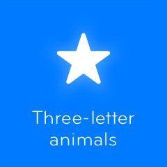 Three letter animals 94