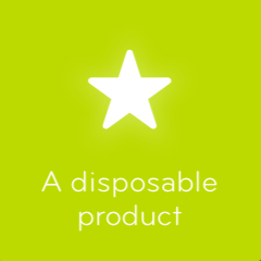 A disposable product 94