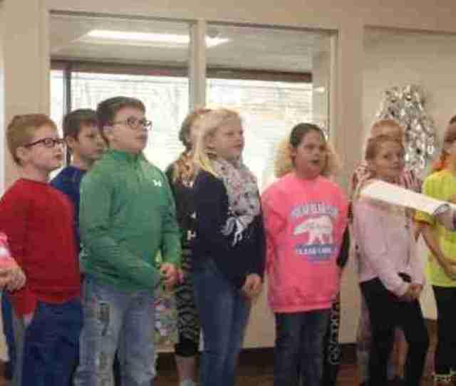 Charles City Iowa Kellan Heavican Shares How Students Are Spreading The Holiday Cheer Through Classic Christmas Carols