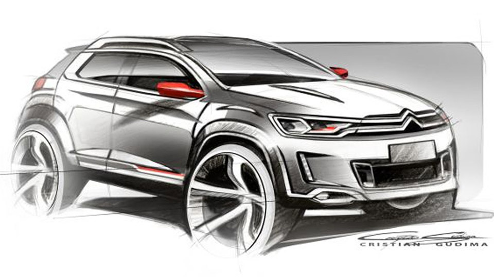 Citroens Compact SUV Concept To Debut In Beijing 95 Octane