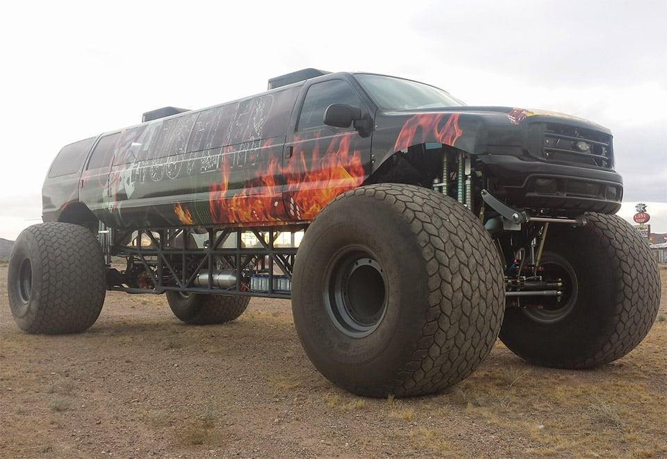 Million Dollar Ford Truck