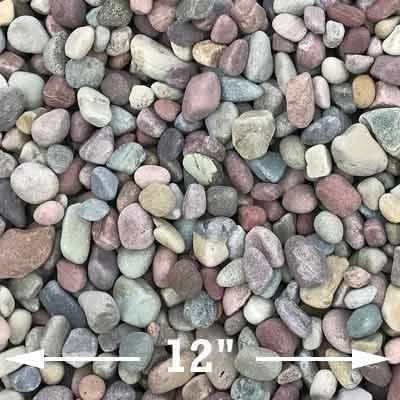 Large rainbow rocks