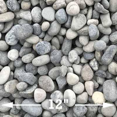 Medium river rocks