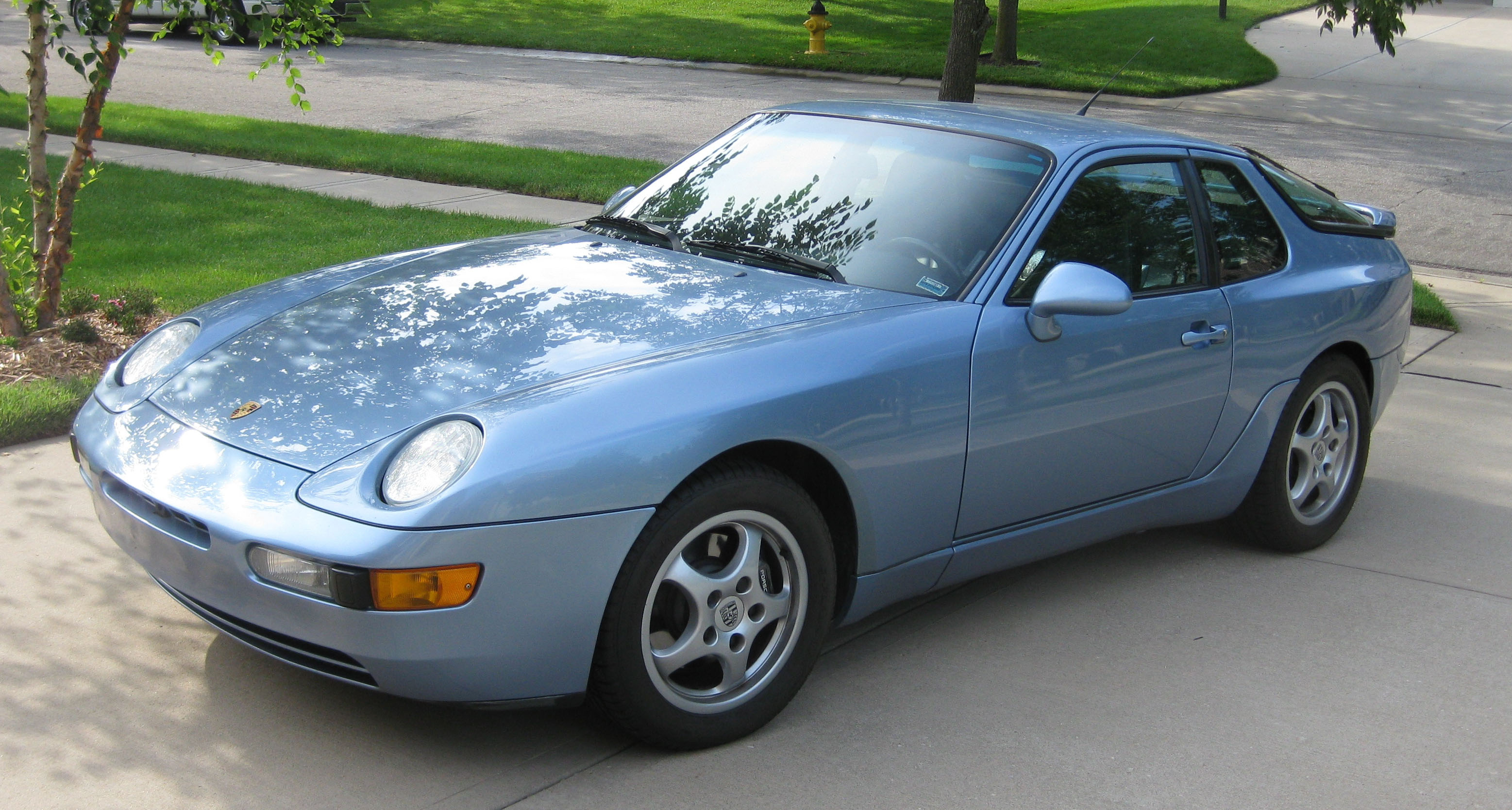 Blue Porsche Paint Code
